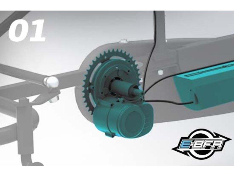 BERG Extra Sport Blauw E-BFR skelter