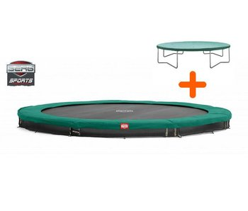 BERG BERG Champion trampoline Inground Ø330cm gratis hoes nu €419