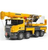 Bruder 3570 - Scania telescoopkraan met gratis helm