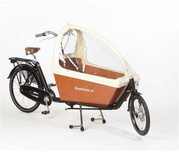 Bakfiets.nl Tent Gargobike long, zonder ritsen kleur créme
