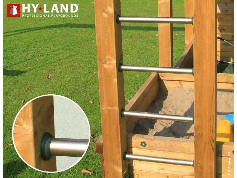 Hy-land speeltoestel P7 - Groene glijbaan