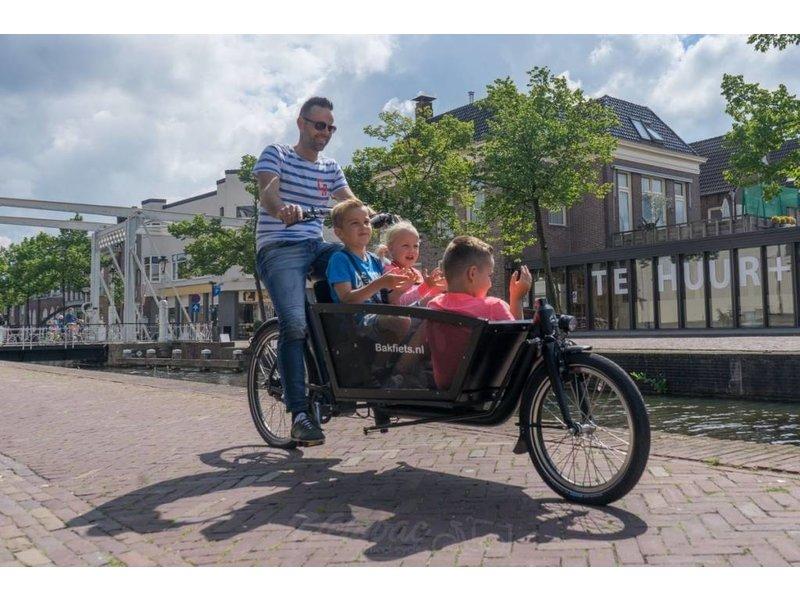 Bakfiets.nl Shadow Steps elektrische bakfiets