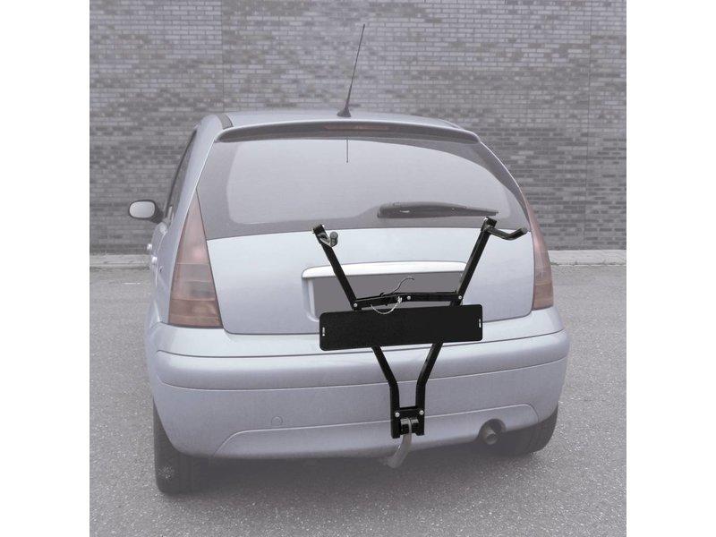 Carpoint Fietsendrager 2 Fietsen (Trekhaak) Incl. Kentekenplaathouder