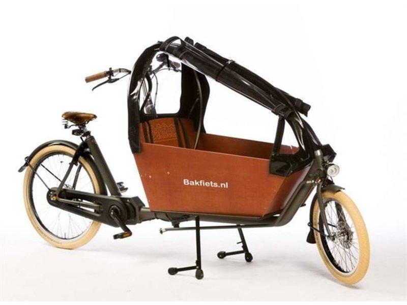 Bakfiets.nl Tent CargoBike Long All, extra hoog, 90% open