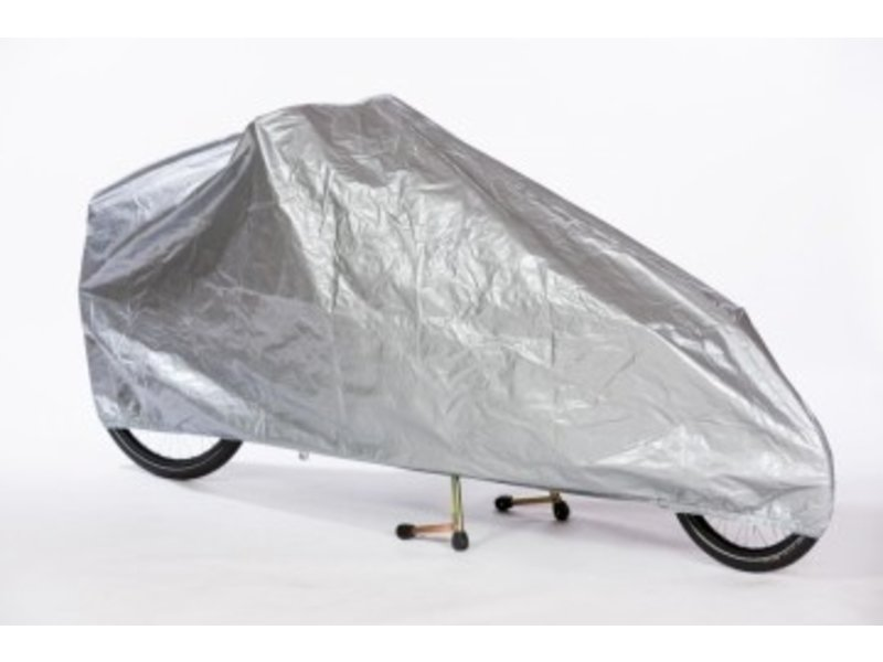 Bakfiets.nl All-over cover cargobike long zilver