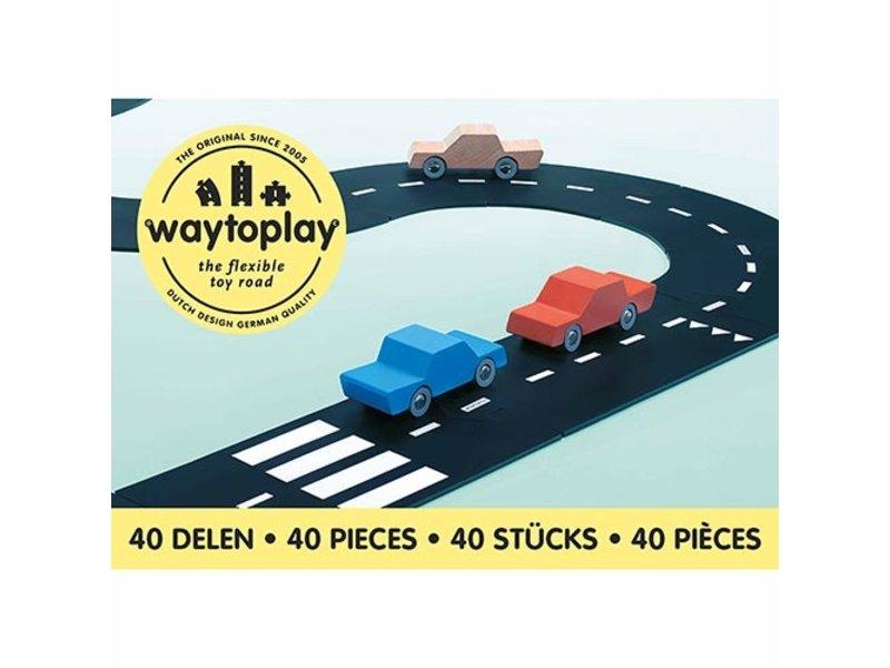 Educo Autobaan Waytoplay King of the road 40-delig
