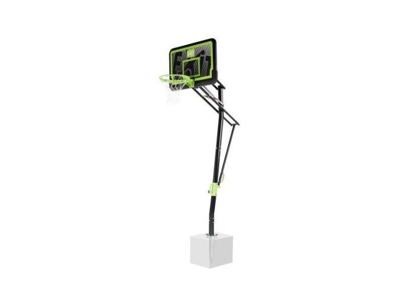 EXIT Galaxy basketbalbord voor grondmontage - black edition