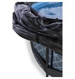 Exit  Stone zwembad ø360x76cm met overkapping en filterpomp