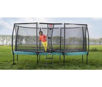 BERG trampoline -  grand champion groen + safety net deluxe