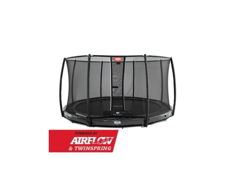 BERG InGround Elite Grey 330 + Safety Net Deluxe