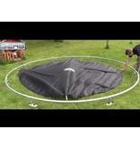 BERG InGround Trampoline Favorit 430 grijs + Safety Net Comfort