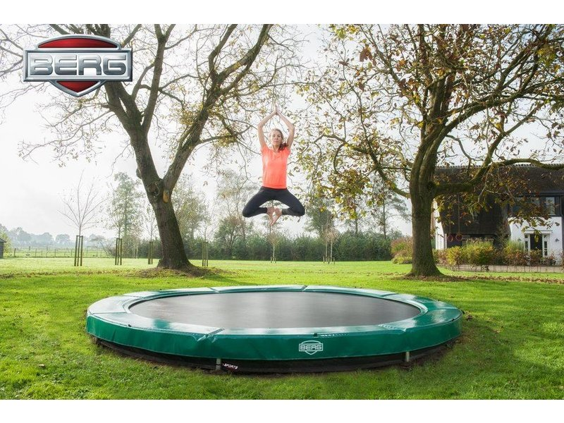 BERG Elite Inground Trampoline Ø430