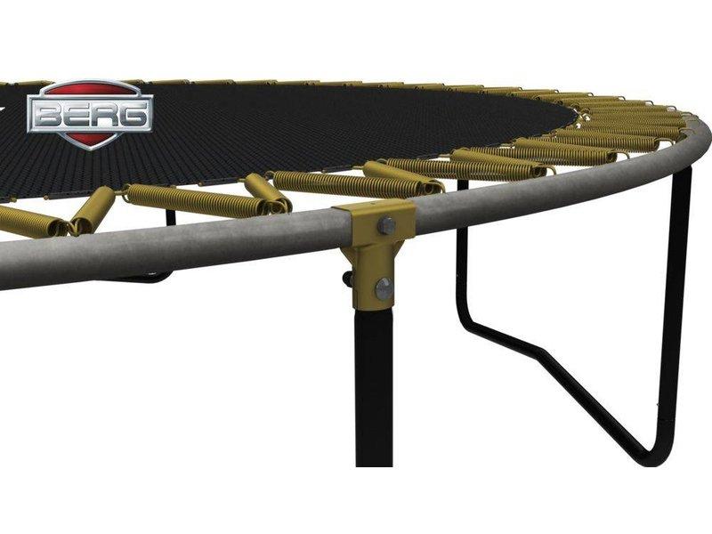 BERG Elite Trampoline Rood Ø430 met veiligheidsnet