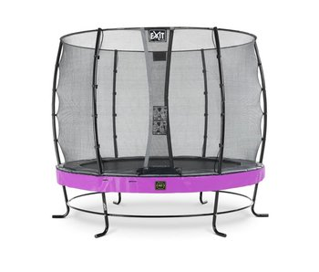 Exit  Elegant Premium trampoline ø305cm with safetynet Economy - purple