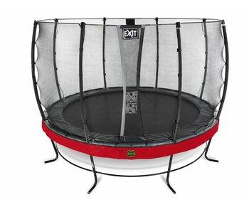 Exit  Elegant Premium trampoline ø427cm with safetynet Economy - red