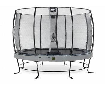 Exit  Elegant Premium trampoline ø427cm with safetynet Economy - grey