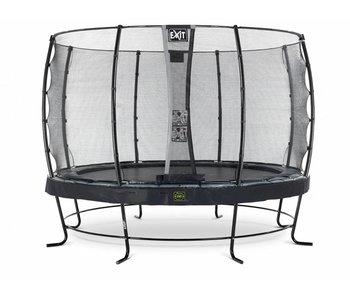 Exit  Elegant Premium trampoline ø427cm with safetynet Economy - black