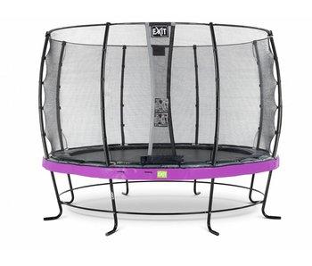 Exit  Elegant trampoline ø427cm with safetynet Economy - purple