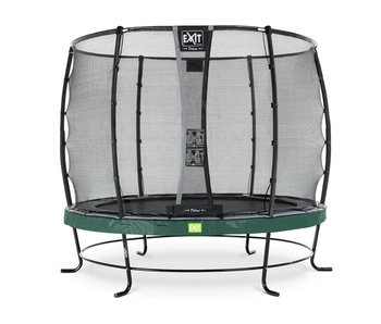 Exit  Elegant trampoline ø305cm with safetynet Deluxe - green