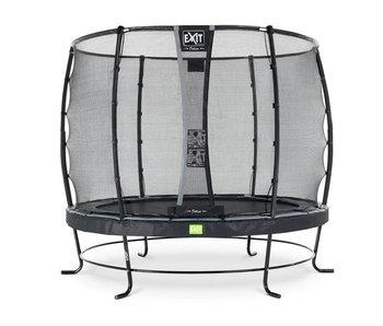Exit  Elegant trampoline ø305cm with safetynet Deluxe - black