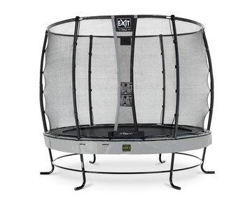Exit  Elegant Premium trampoline ø305cm with safetynet Deluxe - grey