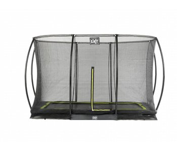 Exit  Silhouette Ground + Safetynet Rect. 214x305 (7x10ft) Black