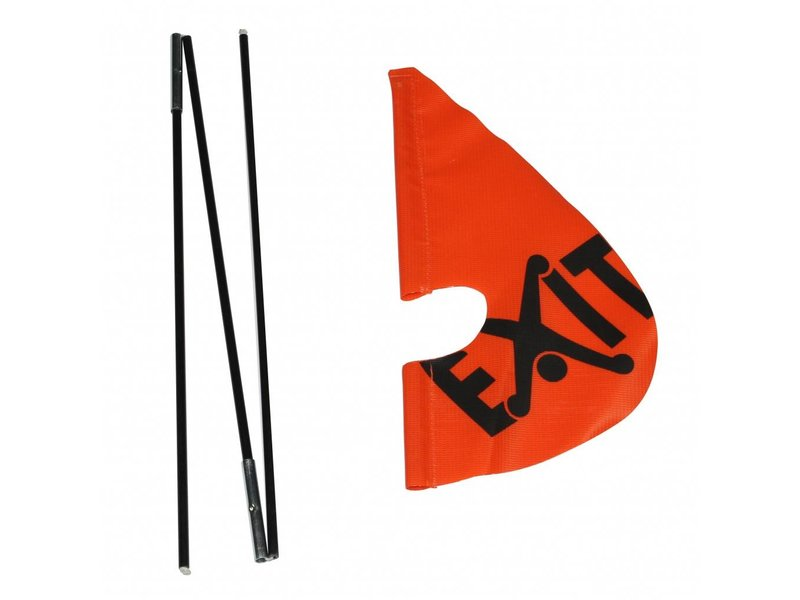 EXIT Veiligheidsvlag (tbv Foxy/Spider)