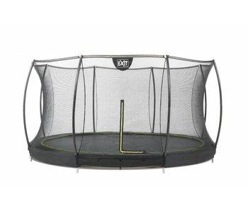 Exit  Silhouette Ground Trampoline 427 cm + Safetynet