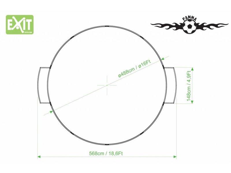 EXIT Panna-Field Round ø488cm (ø16Ft)