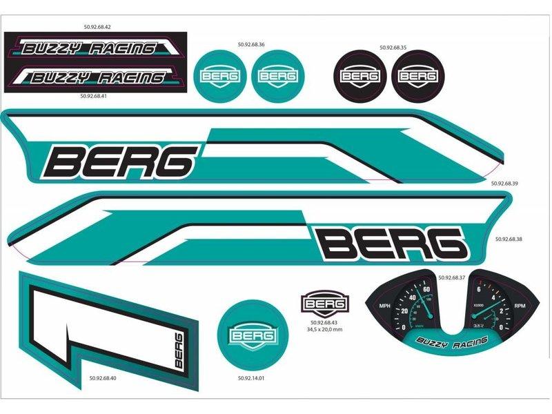 BERG Buzzy - Stickerset Racing