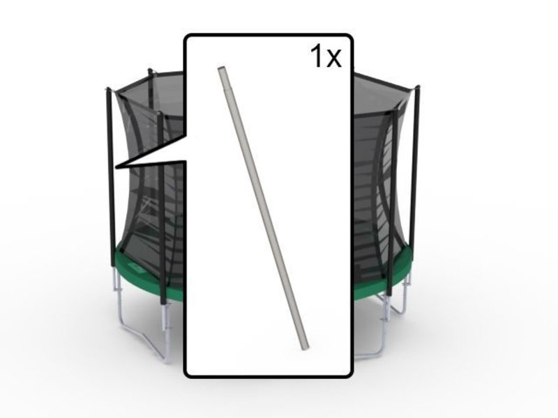 BERG Safety Net Comfort - Onderpaal