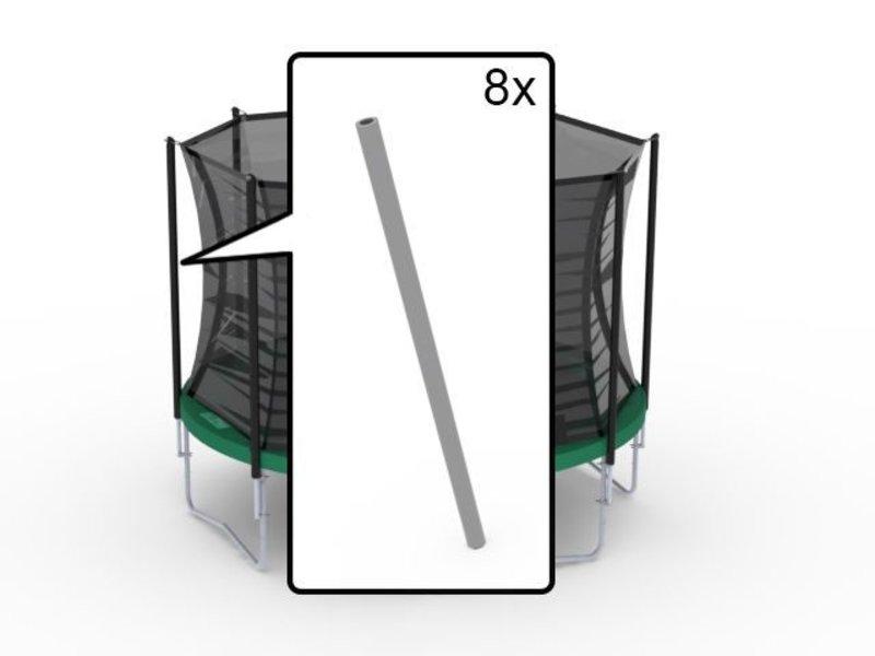 BERG Safety Net Comfort - set schuimdelen (8x boven;8x onder)Wit