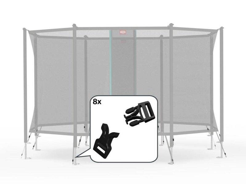 BERG Safety Net Comfort - Klikgespen (8x)