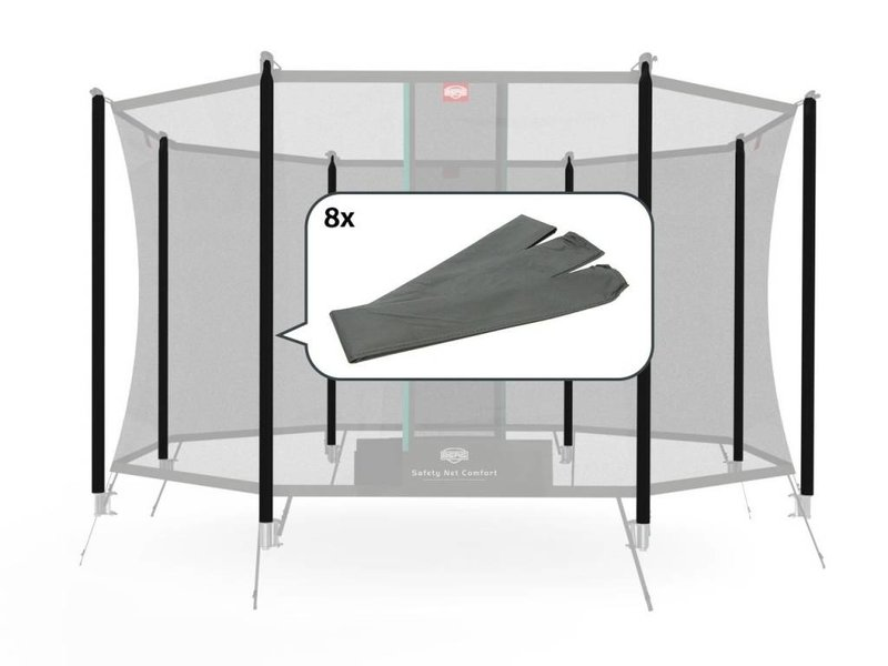 BERG Safety Net Comfort - Paalhoezen InGround (8x)