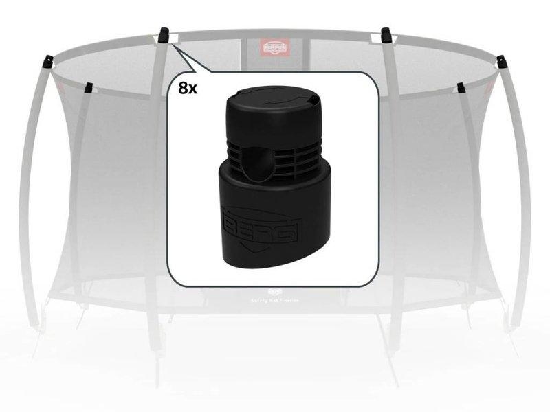 BERG Safety Net - Doppen voor bovenpalen (8x)