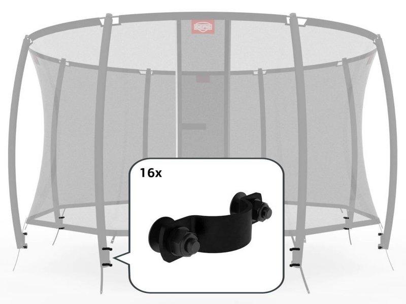 BERG Safety Net Deluxe - Bevestigingsmiddelen voor 8 palen