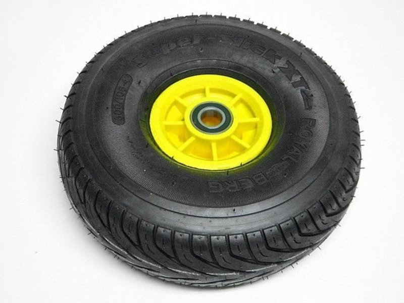 BERG Wiel geel 300/105-4 slick links