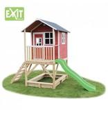 Exit  Houten EXIT speelhuis Loft 500 Red