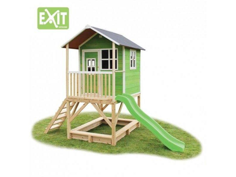 Exit  Houten EXIT speelhuis Loft 500 Green
