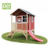 Exit  Houten EXIT speelhuis Loft 300 Red