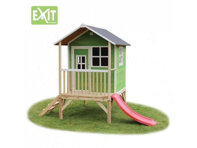 Exit  Houten EXIT speelhuis Loft 300 Green