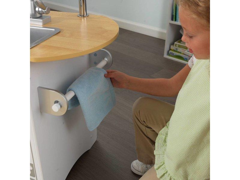 Kidkraft Houten kinderkeuken Uptown White