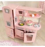 Kidkraft Vintage houten kinderkeuken - roze