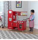 Kidkraft Vintage houten kinderkeuken - rood