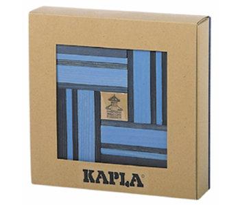 Kapla Aanvulset licht blauw / blauw 40 stuks