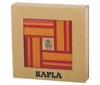 Kapla Aanvulset rood / oranje 40 stuks