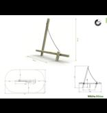 Speeltoestel Sail premium - White Rhino