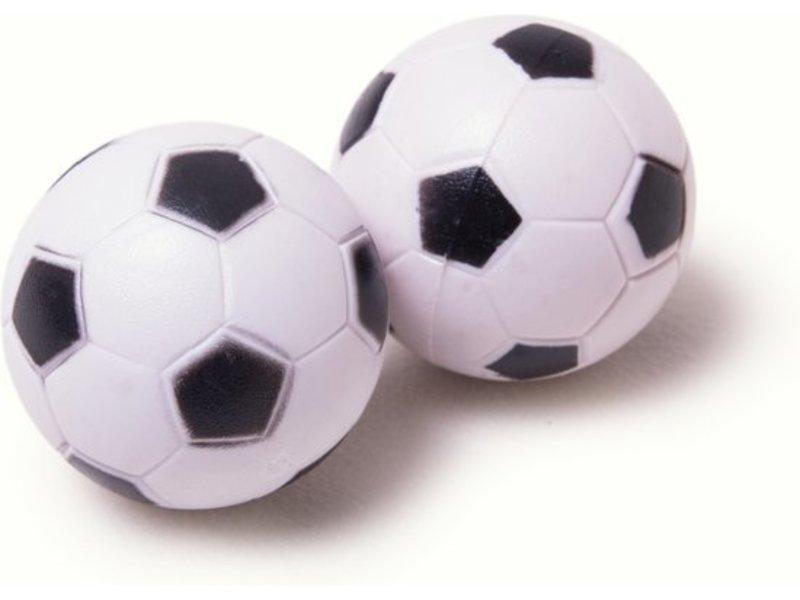 Heemskerk Tafelvoetbalballetjes Profiel-zwart/wit per 12