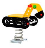 Veertoestel Graafmachine