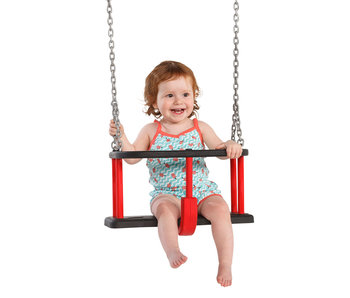Babyschommel Rubber Basic incl. gegalvaniseerde kettingset